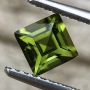 Tourmaline Green Square Step Cut