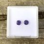 Ceylon Sapphire Purple Round Pair