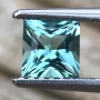 Tourmaline Indicolite Princess 4.9mm