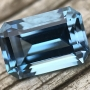 Aquamarine 2.05 carat Emerald Cut