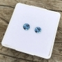 Aquamarine Round Pair 5mm