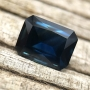 Australian Sapphire Blue Radiant Emerald Cut 1.54 carat